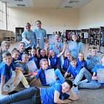 Новгородские дети везут в Новгород «Золото Балтики»