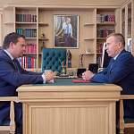 Глава Мошенского района обсудил с Андреем Никитиным проблемы муниципалитета