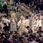 Новгородские архиереи почтили память митрополита Ленинградского и Новгородского Никодима вместе с Патриархом