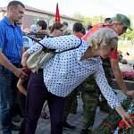 Боровичане установили памятный знак бойцам 177-й стрелковой дивизии и недоумевают