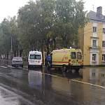 Женщина сбила мужчину на пешеходном переходе на Большой Московской улице