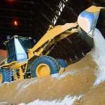 Упрдор «Россия» запасло более 100 000 тонн песка и соли на две новгородские трассы