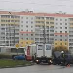 Машинка «Мед-Фуда» попала в ДТП на Державинском кольце