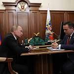Андрей Никитин рассказал СМИ подробности встречи с Владимиром Путиным