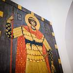 Свято-Юрьеву монастырю преподнесли в дар частичку мощей Георгия Победоносца