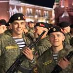 Наши земляки принимают участие в Параде Победы на Красной площади