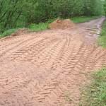 На участке дороги Вычерма-Любытино восстановили движение после обвала грунта