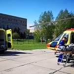 Вертолет санавиации доставит в новгородские больницы двух пациентов в тяжелом состоянии