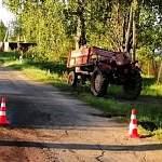 В Новгородском районе трактор вновь стал жертвой автомобиля