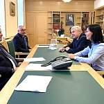 Андрей Никитин и руководитель новгородского управления Роскомнадзора Наталья Фролова обсудили вопросы взаимодействия