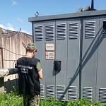 На трансформаторной подстанции в Новгородском районе сгорел человек