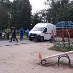 Ребёнку на детской площадке в новгородском парке потребовалась помощь врачей