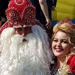 Дед Мороз в День Великого Устюга передал привет Великому Новгороду