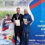 Новгородский байдарочник завоевал четыре золотые медали на первенстве России