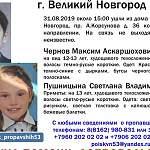 В Великом Новгороде пропали двое детей