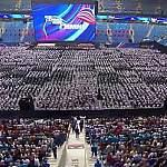 Новый рекорд Гиннеса: 48000 человек исполнили гимн России в Санкт-Петербурге