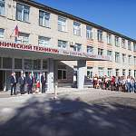 Андрей Никитин поздравил студентов агротехникума с удачным выбором, а Тимофей Гусев освоил виртуальный трактор