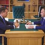 Андрей Никитин и Сергей Бусурин обсудили финансовое оздоровление Великого Новгорода