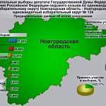 В Новгородской области обработали более 60% протоколов по допвыборам в Госдуму