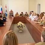 Ветераны и бойцы нынешних студенческих отрядов собрались в Великом Новгороде за круглым столом