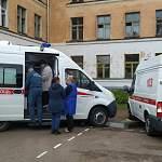 Фотофакт: в Великом Новгороде эвакуируют школу № 14