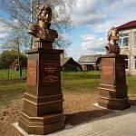 В деревне Перегино установили бюсты Суворова и Багратиона. И это только начало
