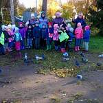 Воспитанники детского сада в Божонке посчитали птиц