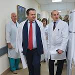Андрей Никитин познакомился с изменениями в работе областных медучреждений