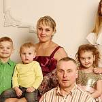 Новгородскую семью наградили в Кремлевском дворце