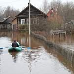 Из-за наводнения нет проезда к деревне Шапкино Старорусского района