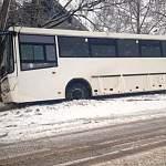 Рейсовый автобус «Великий Новгород - Демянск» попал в аварию