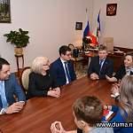 Елена Писарева встретилась с гостями из Ненецкого автономного округа
