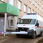 Резеда Ломовцева проконтролировала ход ремонта в Пестовской ЦРБ и пообщалась с медиками