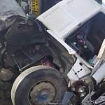 За день в Новгородской области в авариях пострадали водитель, двое дорожных рабочих и пешеход