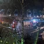 Пожарные спасли из горящей квартиры пожилую новгородку