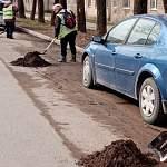 Стал известен график уборки улиц Великого Новгорода. Власти просят горожан убрать машины
