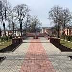 На боровичский мемориал «Вечный огонь» вернулись упавшие буквы