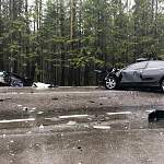 В автокатастрофе в Псковской области погибли три человека