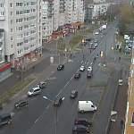Фото с камер наблюдения: индекс самоизоляции в Великом Новгороде стал рекордно низким