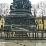 Новгородский кремль продезинфицировали военные