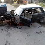 В Новгородском районе два юных водителя уцелели при жёстком столкновении легковушек