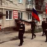 В Боровичах состоялся персональный парад для ветерана Великой Отечественной войны Николая  Каренгина