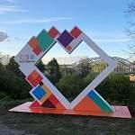 В преддверии юбилея в Боровичах появился новый арт-объект