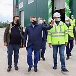 В Пестове запущен новый завод по выпуску топливных гранул