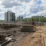В Великом Новгороде началось строительство нового физкультурно-спортивного комплекса