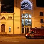 Cпасатели продезинфицировали железнодорожный вокзал в Великом Новгороде