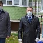 Мэр Великого Новгорода принял участие в акции «Единой России» по доставке продуктов