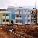 Новый детсад в микрорайоне «Ивушки» обретает цвета