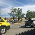 На Сырковском шоссе в Великом Новгороде произошла серьёзная авария