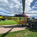 Воздушная скорая прилетела в Старую Руссу за мужчиной с ножевым ранением сердца